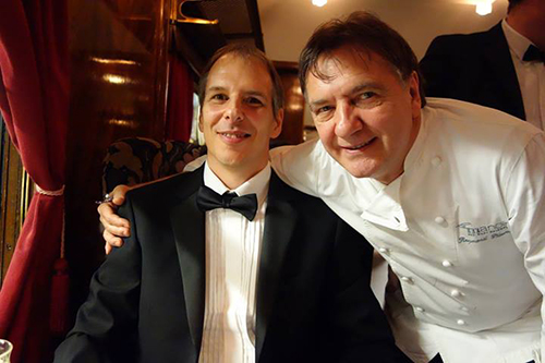 Raymond Blanc on the Orient Express